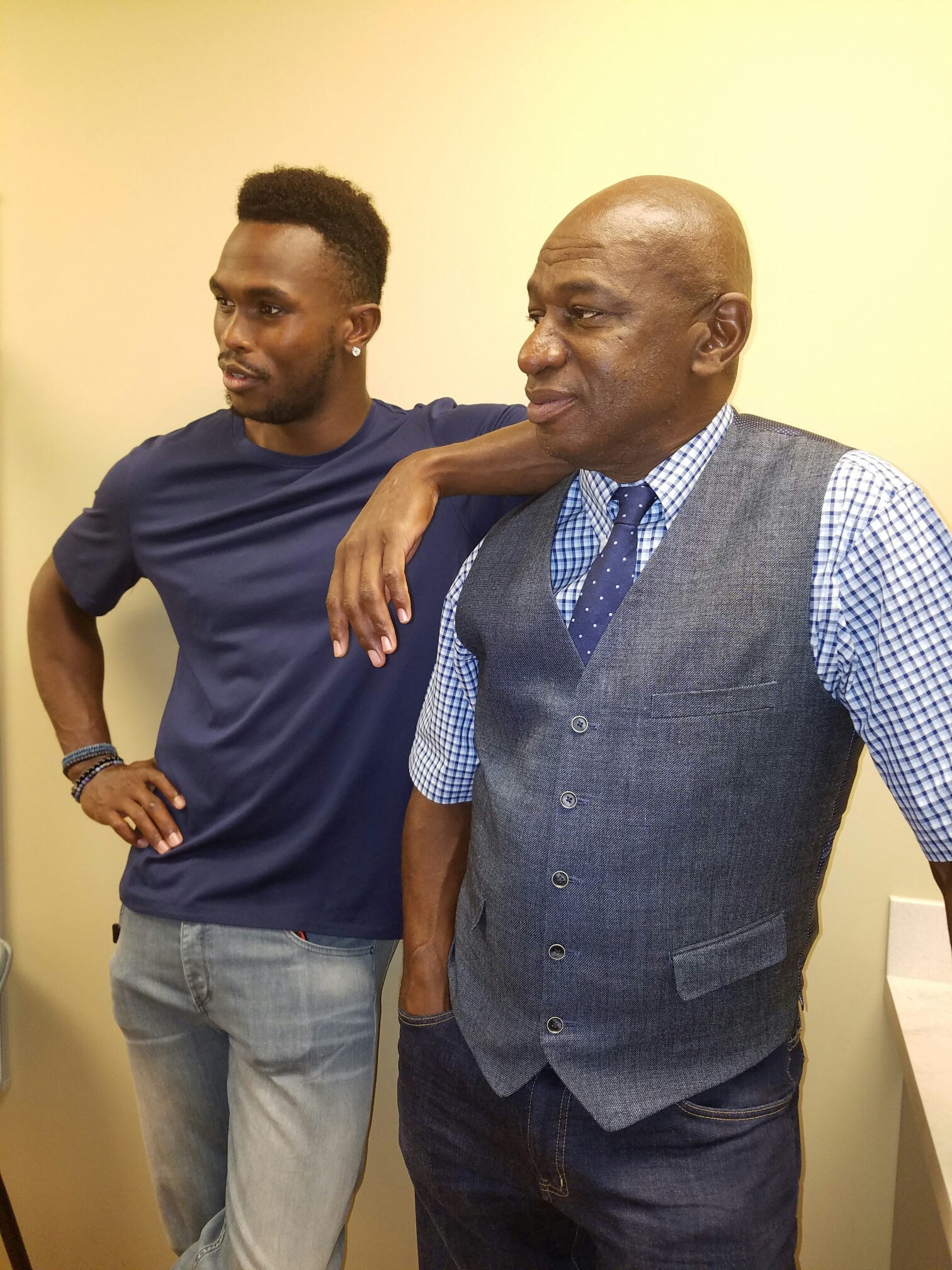 Nfl Superstars Julio Jones And Roy Green Benefit Players Health In Atlanta Screening With Pro Player Health Alliance And Dr Bill Williams