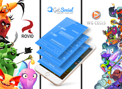 GetSocial signs partnerships with Rovio and WG Cells
