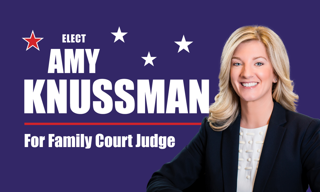 Amy Knussman Announces Candidacy For Family Court Judge in