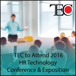 TEC to Attend 2016 HR Technology Conference and Exposition