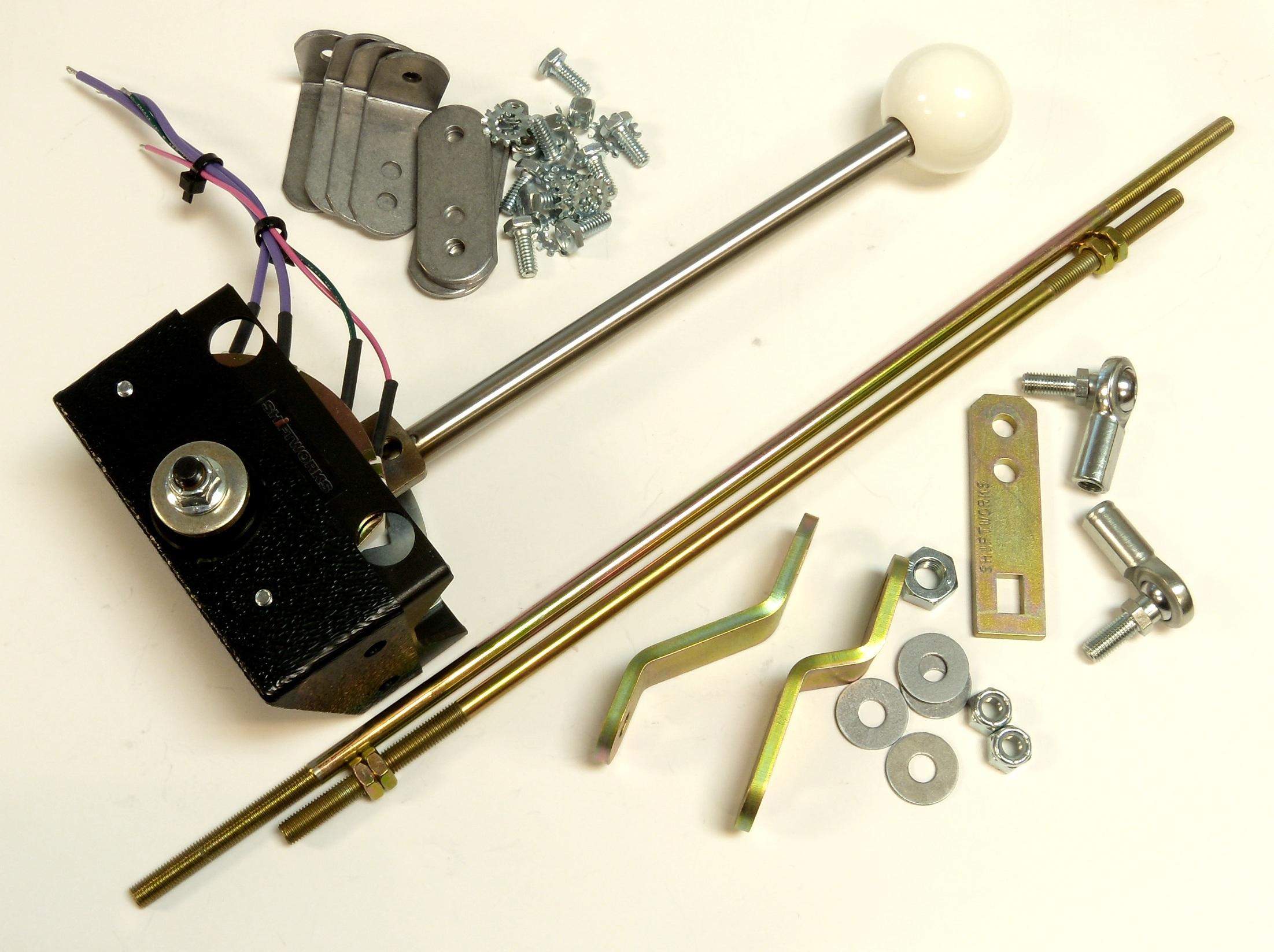 New at Summit Racing Equipment: Shiftworks Shifter Conversion Kits