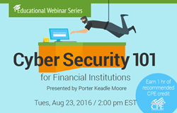 Cyber Security 101 for Financial Institutions