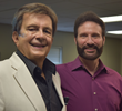From left are Ed Silvoso and Chuck Proudfit, founder and president of At Work on Purpose.