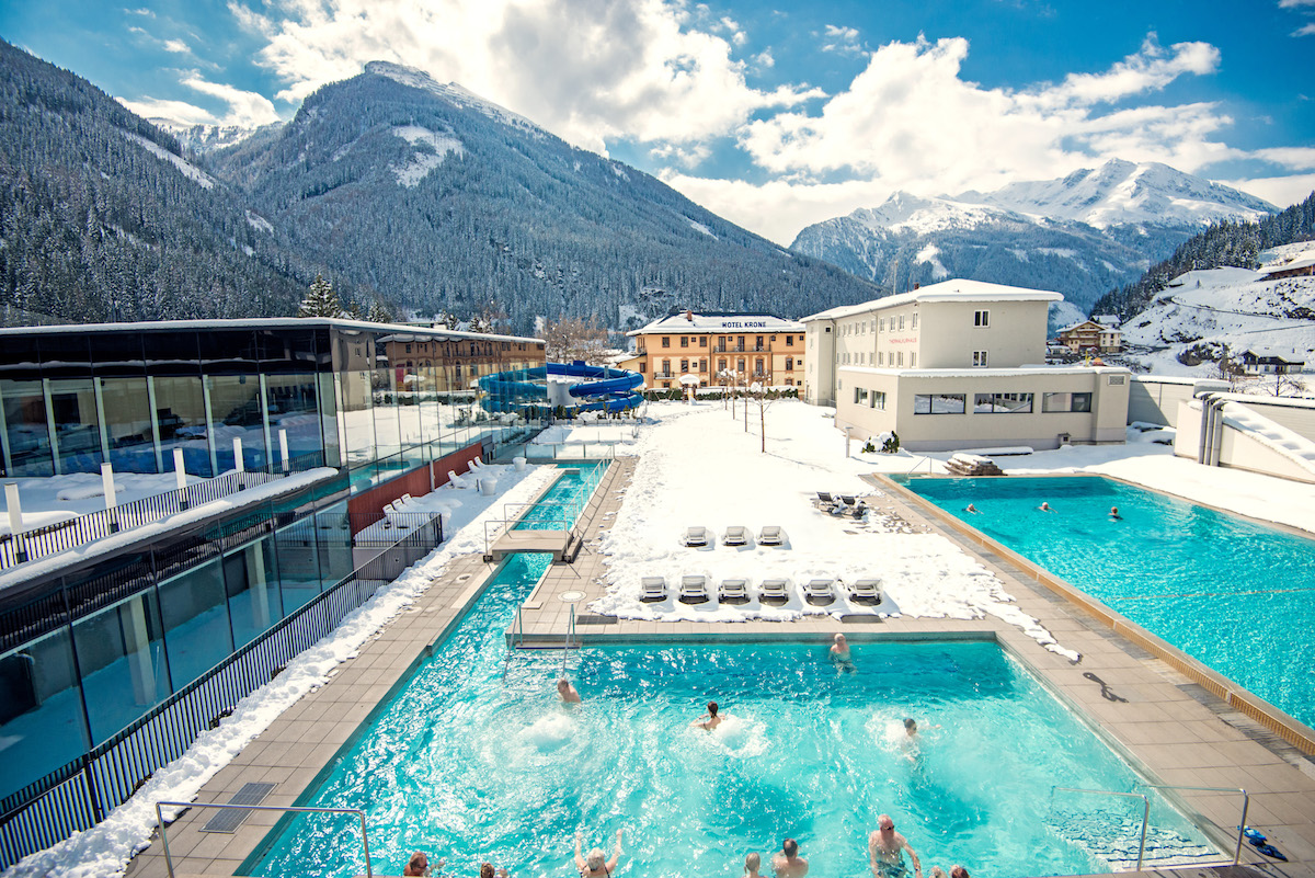 Austrian Spa Town Bad Gastein Is Famous For Its Radon Water. Post Summit  Travelers To Felsentherme Will Have An Historic/modern Spa Experience ...