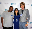 Dannon Santiago, Gregory Graham and Luciana Lagana at LBI 2016 film festival