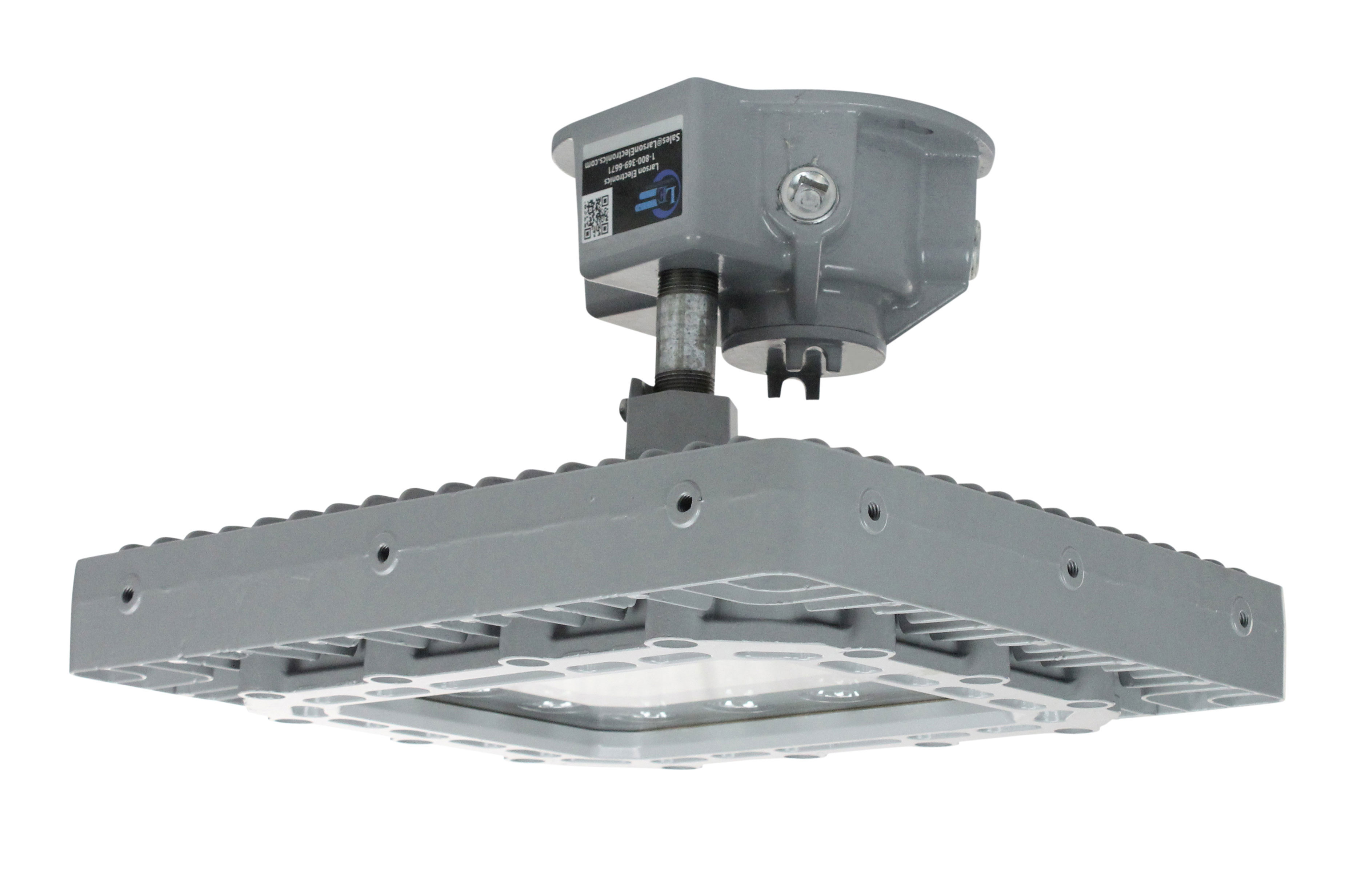 150 Watt Explosion Proof Led Light Fixture Equipped With A Ceiling Mountclass 1 Division 2 For Hazardous Locations