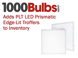 PLT Edge-Lit Prismatic Troffers Added to the 1000Bulbs.com Inventory