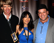 Gregory Graham, Luciana Lagana and composer Cliff Targum at 2016 AOF Film Festival