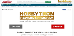 HobbyTron Loyalty Program