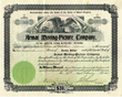 Scripophily.com is Now Offering a Rare Founder Signed Armat Moving Picture Co. Stock Certificate from Company who Invented First Commercial Motion Picture Projector