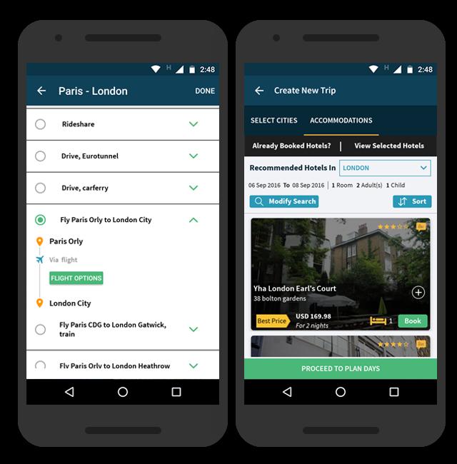 trip plans the most customizable travel app built so far