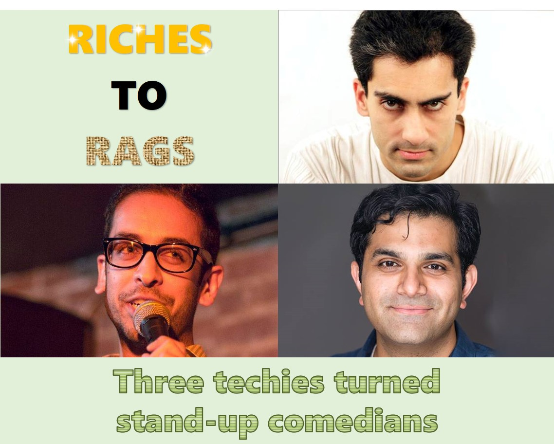 Riches To Rags Standup Comedy Shows Present Technically