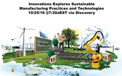 Exploring Sustainable Technologies in Upcoming Episode of Innovations...