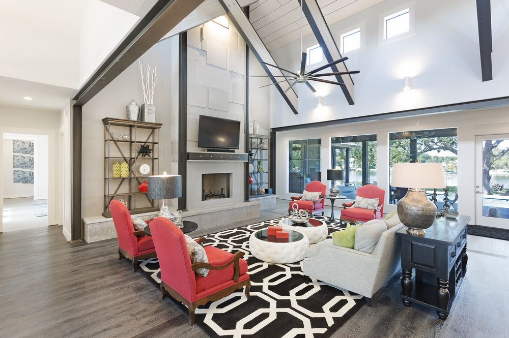 Beautiful Texas Vacation And Dream Homes In Hill Country Builders Ociation Parade Home Tour