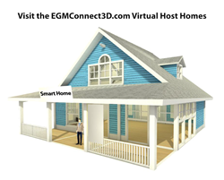 EGM Connect 3D Virtual Host Home Image