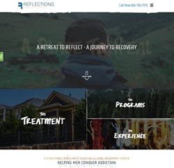 Reflections Recovery Center Announces New Website Redesign