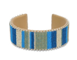 Linea Wide-Etkie Beaded Cuff: Photo courtesy of the Georgia O'Keeffe Museum