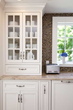 kitchen design, interior design, classic white kitchen, interior designers Boston MA