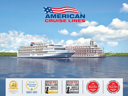 American Cruise Lines Receives Prestigious Travel Industry Awards