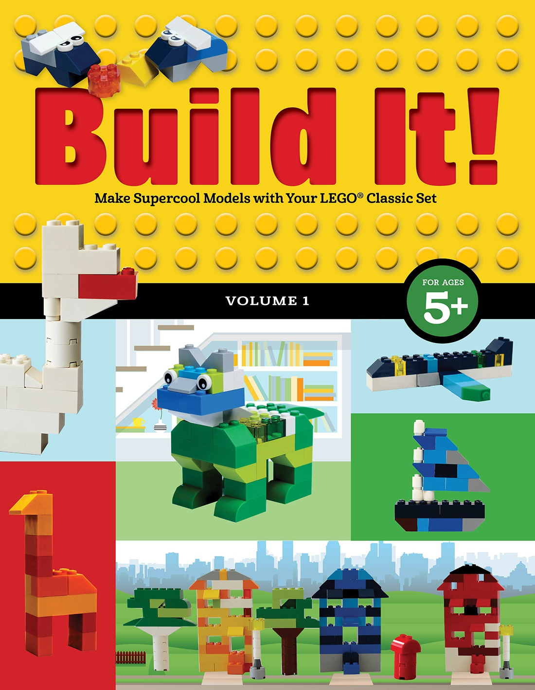 New Instruction Book Series For Kid Lego Artists