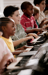 Young Musicians Play Yamaha Keyboards