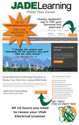 Utah Electrician License Renewal November 30th