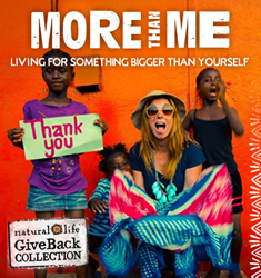More Than Me & Natural Life Launch GiveBack Collection
