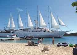 Windstar Cruises Defies Winter with Top of Industry-Ranked Tropical...