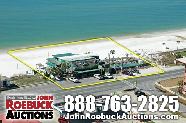 Mexico Beach Florida Sealed Bid Auction Toucan S Tiki Bar Restaurant Llc With Two Vacant Lots In