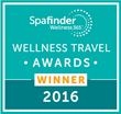 2016 Wellness Travel Award Winner