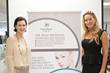 The Spiga Protocol founder and beauty expert Annaliza Spiga with NeoGenesis representative Donna Crawford
