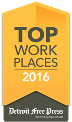 2016 Top Workplaces Detroit Free Press