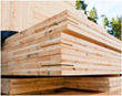 Exceptionally strong and sustainable, Cross Laminated Timbers (CLTs) are wood panels typically consisting of three, five, or seven layers of dimension lumber.