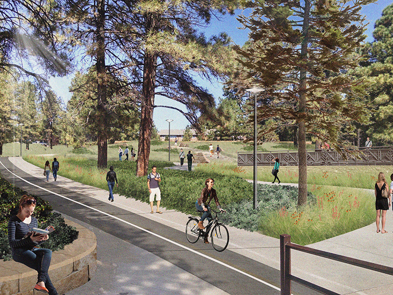 A Civitas Designed Masterplan For Transforming How The Northern Arizona  University Campus Looks And Functions Has Won A 2016 ASLA Colorado Merit  Award ...