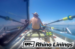 Rhino Linings row race sponsorship