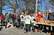 On the first Sat. of each month, Eagle Pointe Church feeds the homeless in front of the Must Ministries building in Marietta. Volunteers and donations are always needed and greatly appreciated.