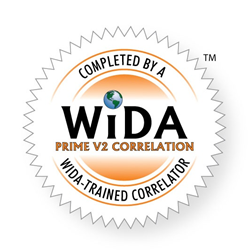WIDA PRIME V2 correlation seal