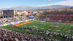 Albuquerque welcomes the UTSA Roadrunners and the UNM Lobos to the 11th Annual Gildan New Mexico Bowl and offers visitors plenty to do during the holiday season. Photo by Natalie Kohl.