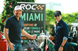 Pictured (Left to Right): ROC President & Founder Fredrik Johnsson, Colombian IndyCar Star Helio Castroneves