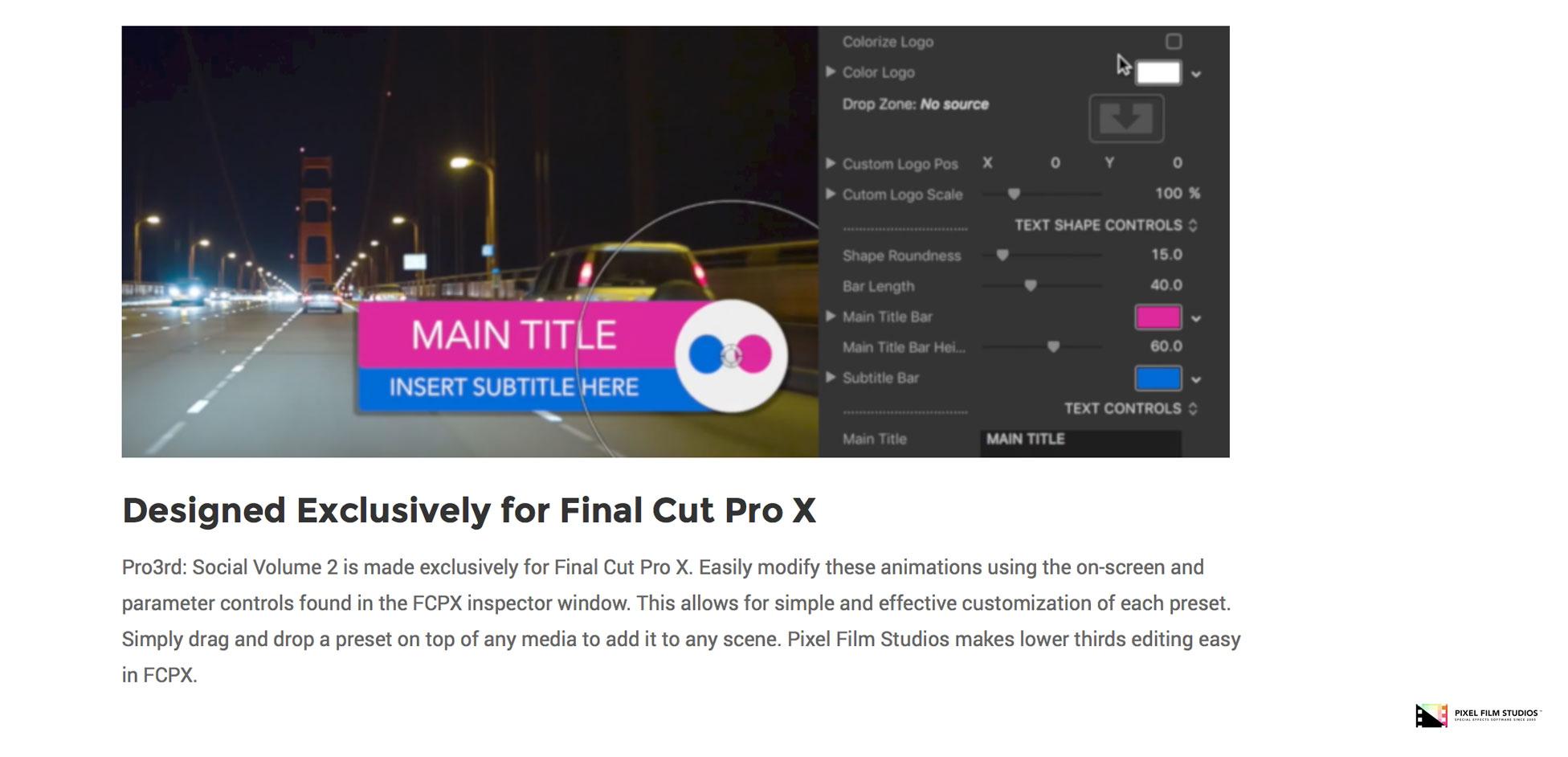Pixel Film Studios Set to Release Pro3rd Social Volume 2 for