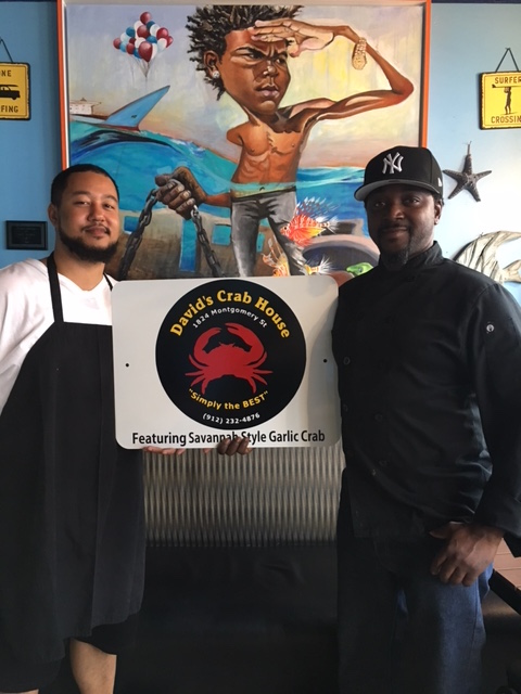 larry davids crab house and chef kelz kelz kitchen downtown atlantaits official - Kelz Kitchen