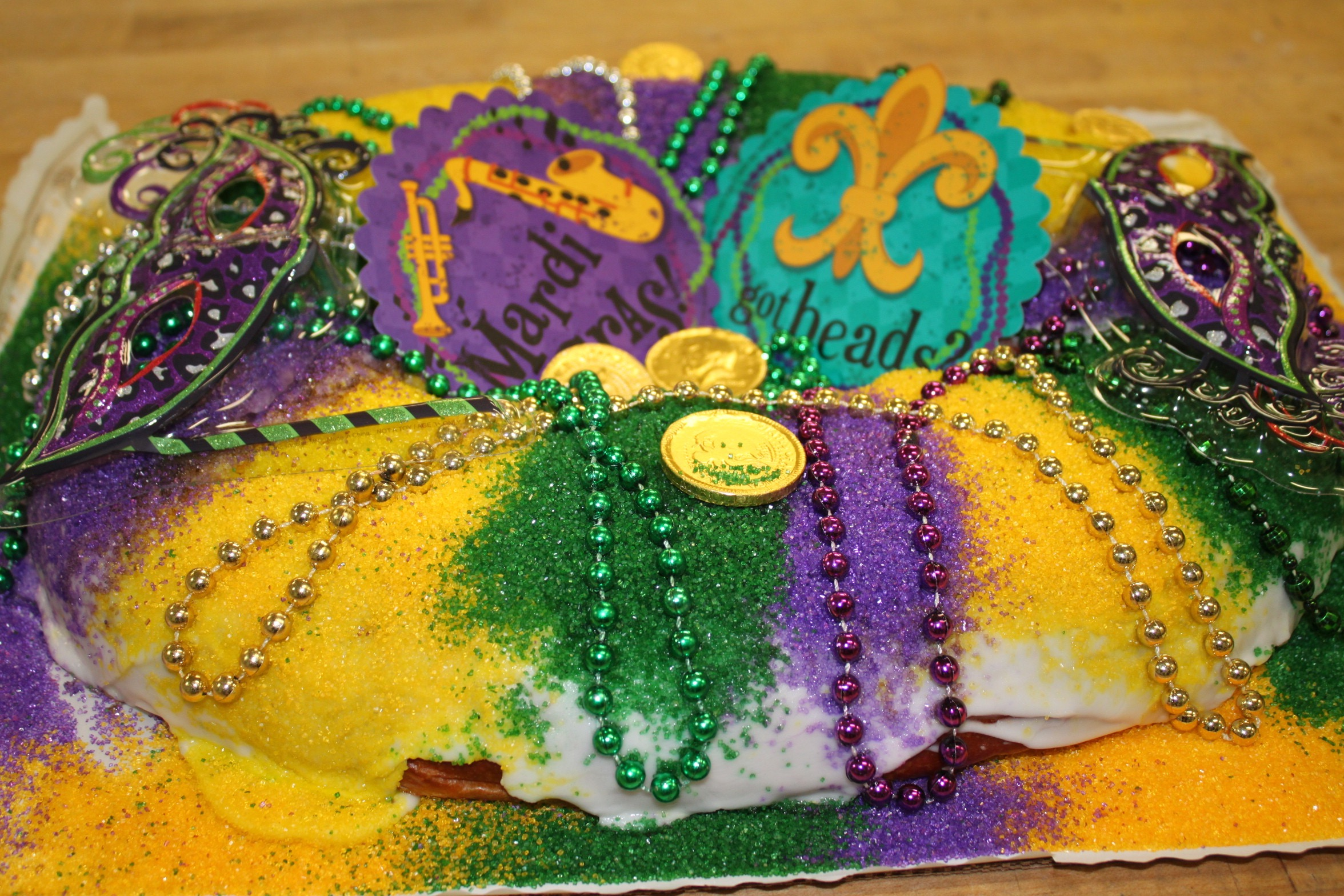Three Brothers Bakery Celebrates The Big Game Mardi Gras