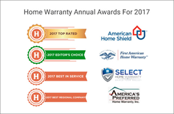 The best top rated companies for home warranty