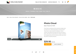Pixel Film Studios Recently Released Photo Cloud for Final Cut Pro X