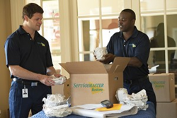 ServiceMaster Employees Content Cleaning and Pack Out Services