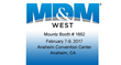 Mountz Exhibiting at the MD&M West Show