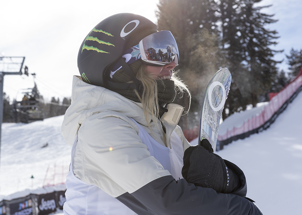Monster Energy's Jamie Anderson Takes Silver in Women's ...