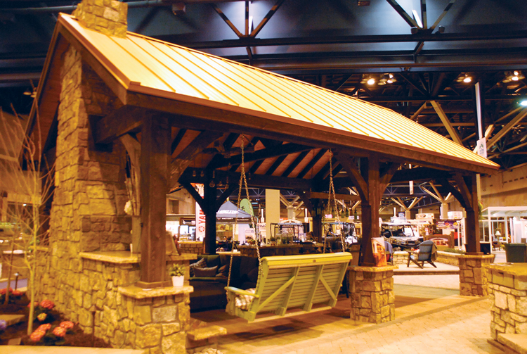 Exceptional Tour 25,000+ Square Feet Of Gardens And Outdoor Living SpacesOutdoor Living  Spaces At The St. Louis Home U0026 Garden Show ...