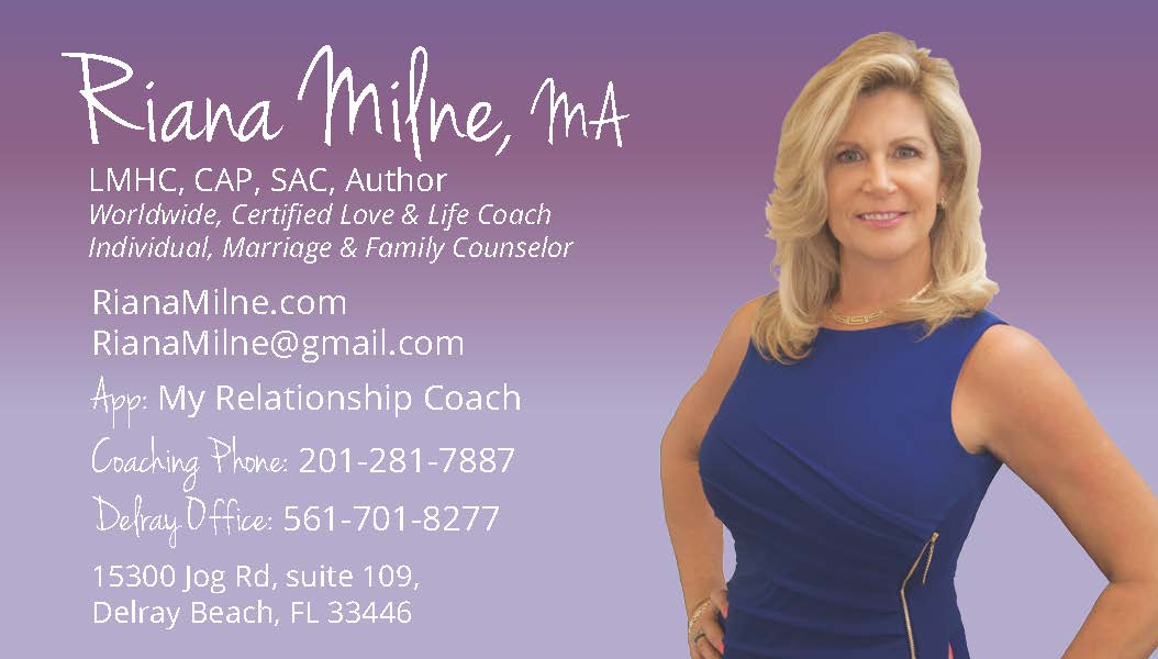 Riana Milne, Certified Love, Life and Relationship Coach ...