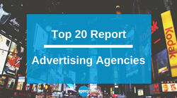 Top 20 Advertising Agencies Report on Agency Spotter